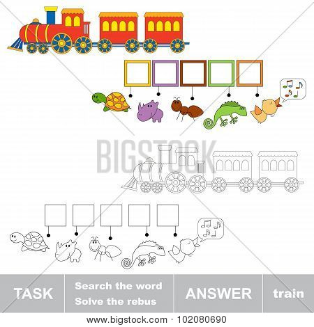 Search the word TRAIN.