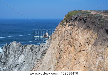 Bodega Head Promontory And Ocean