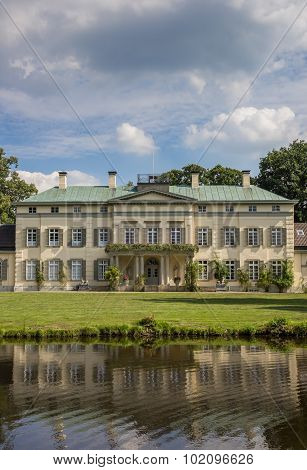 Front Of The Rastede Castle In Lower Saxony