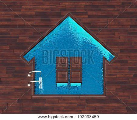 Shaped Pool House