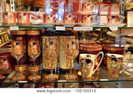 Souvenirs With Image Of Paintings Of Gustav Klimt