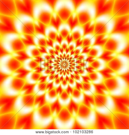 Colorful Abstract Hypnotic Colorful Background