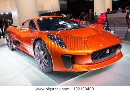 Jaguar C X75 Spectre 007