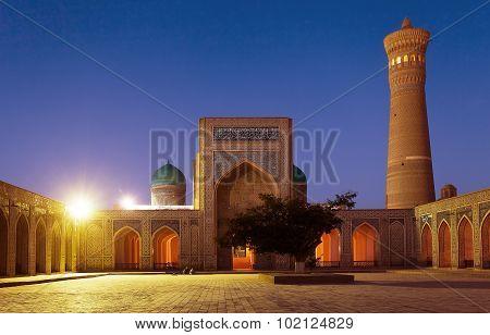 Kalon Mosque And Minaret - Bukhara - Uzbekistan