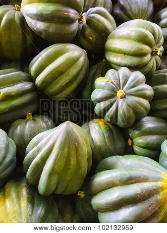 Green Acorn Squashes