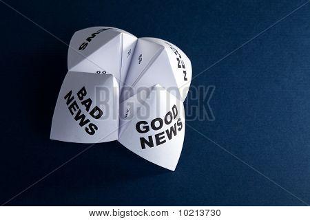 Papier-Wahrsagerin