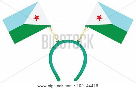 Witty Headdress Flags Djibouti