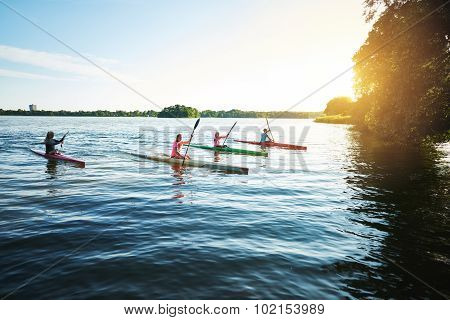 Team Of Sports Kayaks