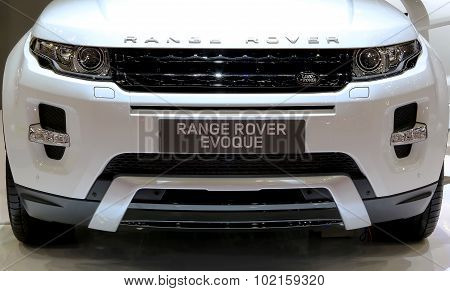 Front Grill Of Range Rover Series Evoque