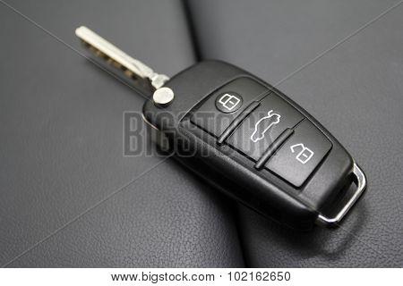 Key To A Luxury Car.