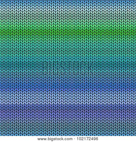 Melange Knitted Seamless Pattern.