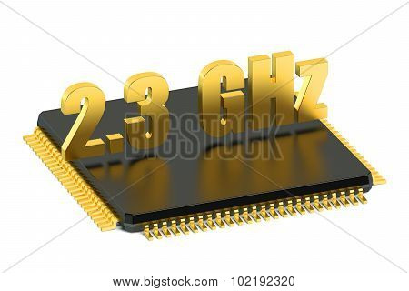 Cpu Chip For Smatphone And Tablet 2.3 Ghz Frequency