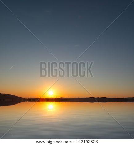 Sunrise Over The Coast in Malta