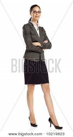 Confident Businesswoman Standing