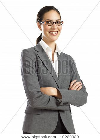 Young Confident Business Woman 1