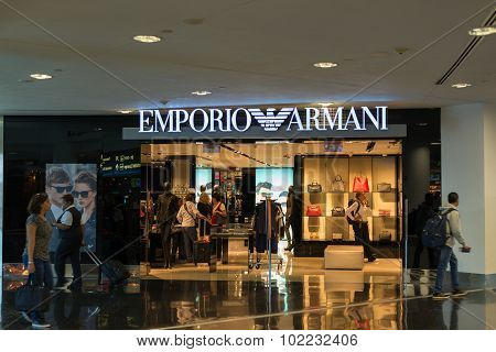 Emporio Armani Store At Miami International Airport