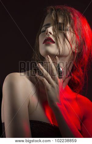 Provocative Beauty Girl