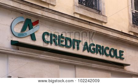 Credit Agricole Is A French Cooperative Bank