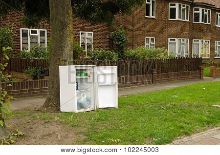Abandoned Fridge, Dagenham