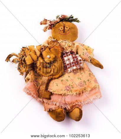 textile dolls