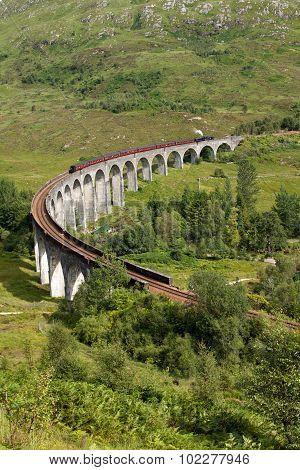 Glenfinnan Viaduct, Lochaber, Scotland