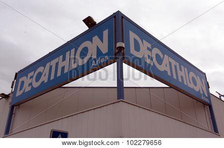 Decathlon Store In Paris, France