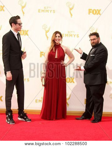 LOS ANGELES - SEP 20:  Vanessa Bayer, SNL at the Primetime Emmy Awards Arrivals at the Microsoft Theater on September 20, 2015 in Los Angeles, CA