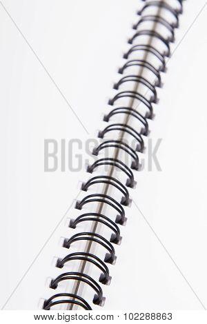 white workbook background