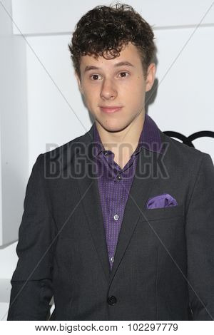 LOS ANGELES - SEP 17:  Nolan Gould at the Audi Celebrates Emmys Week 2015 at the Cecconi's on September 17, 2015 in West Hollywood, CA