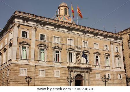 Barcelona. Generalitat Palace. Government Of Catalonia.