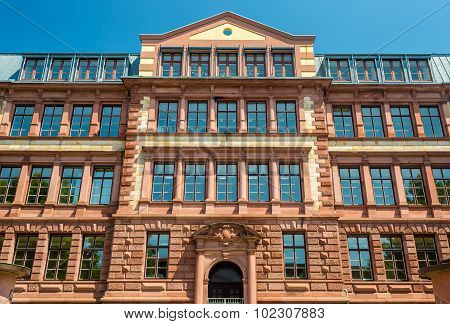 Eberhard Gothein School Building In Mannheim - Germany
