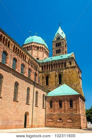 The Speyer Cathedral, A Unesco Heritage Site In Germany