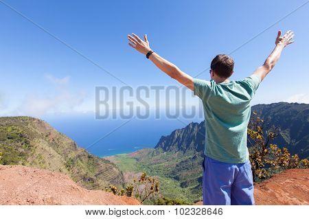 Man At Kauai