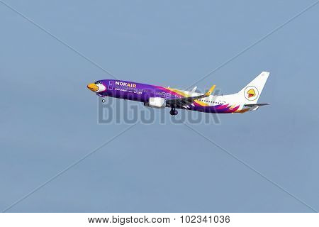 NOK AIR plane at  Donmueang airport