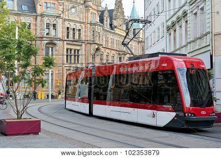 Tram in Braunschweig