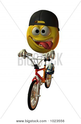 Biking Emoticon
