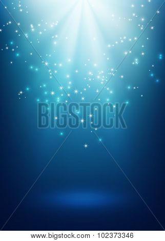 Magic Festive Background