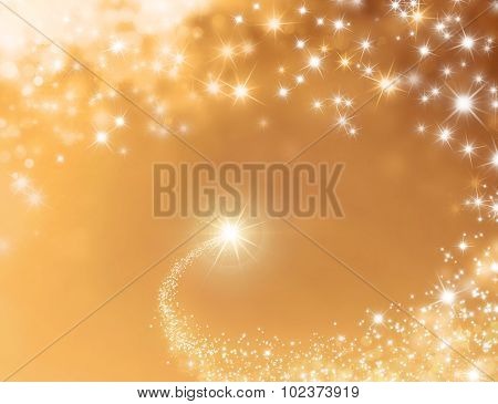 Festive Lucky Star Background