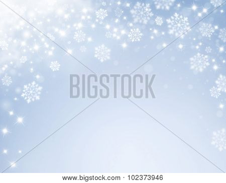 Frozen Festive Background