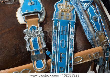Hofbrau Oktoberfest Horse With Harness