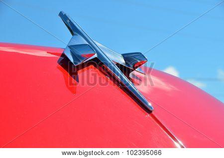 Vintage Airplane Hood Ornament