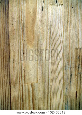 The Weathered Wooden Planks