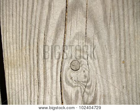 The weathered wooden plank with twig background