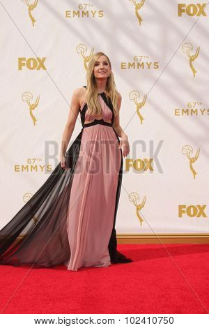 LOS ANGELES - SEP 20:  Joanne Froggatt at the Primetime Emmy Awards Arrivals at the Microsoft Theater on September 20, 2015 in Los Angeles, CA