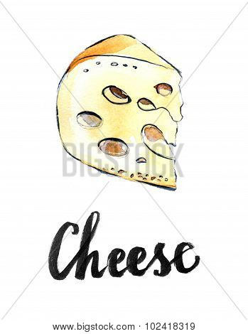 Perfect Pieces Of Swiss Cheese