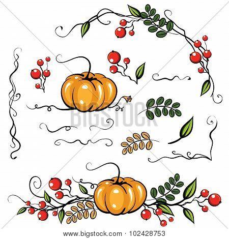 Elements Autumn Leave Decoration