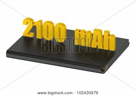 Battery For Smatphone And Tablet 2100 Mah