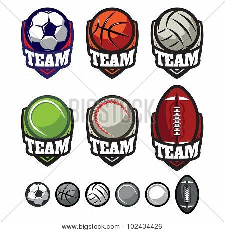 For Sport Teams With Different Ball