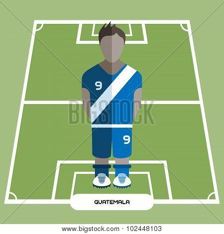 Computer Game Guatemala Football Club Player