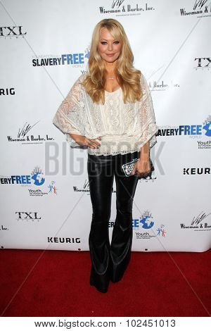 LOS ANGELES - SEP 21:  Charlotte Ross at the The Human Rights Hero Awards at the Beso on September 21, 2015 in Los Angeles, CA